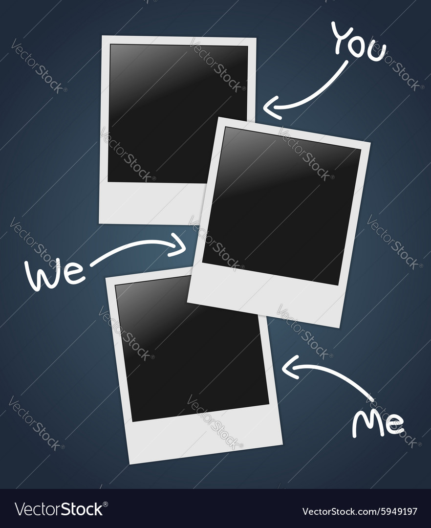 Empty photos template