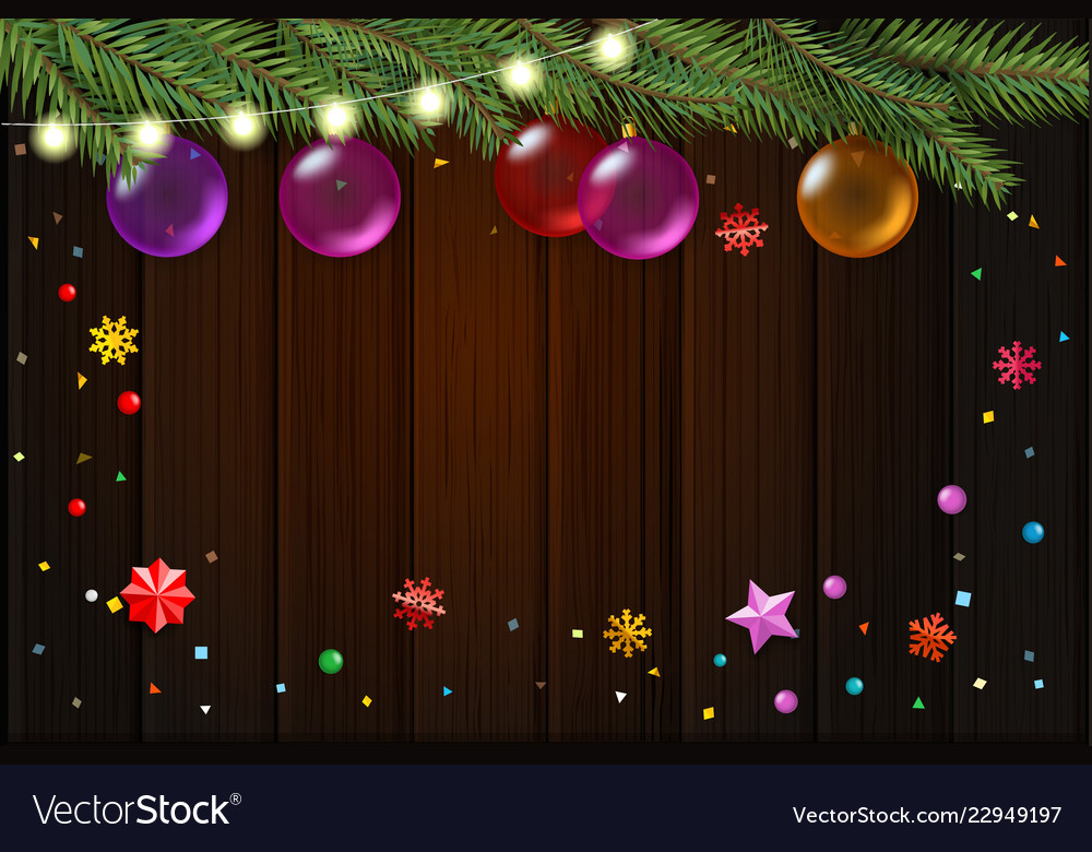 Happy holidays christmas wishes card template top