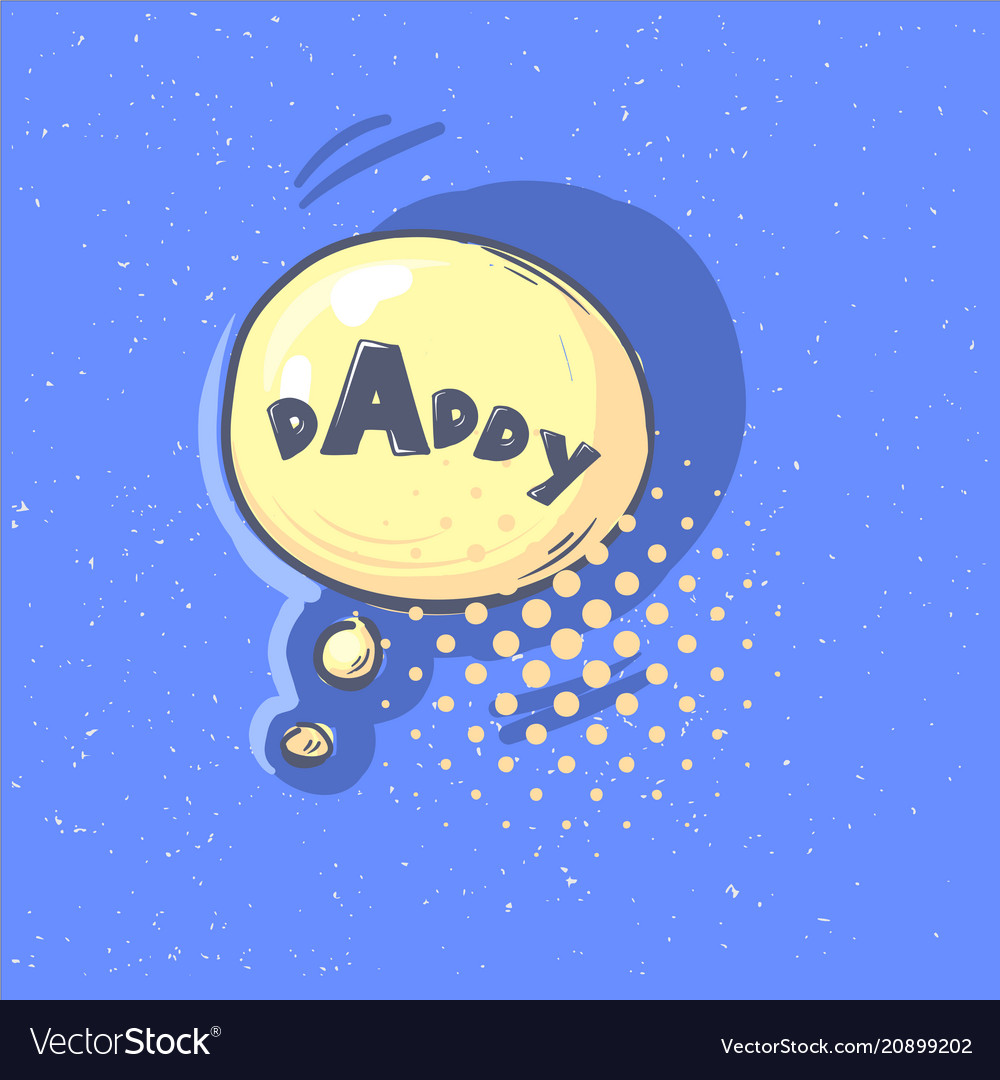 Daddy phrase happy father s day lettering