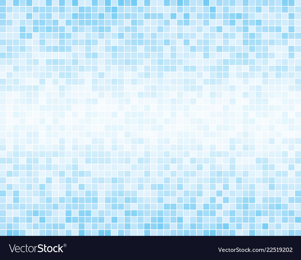 Square Mosaic Tiles Background Vector Image