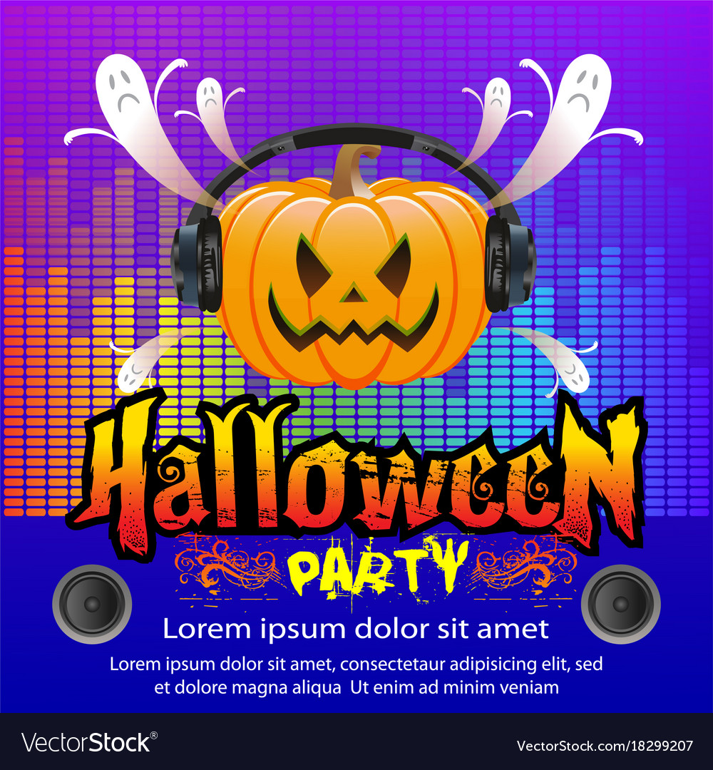 Halloween party concept