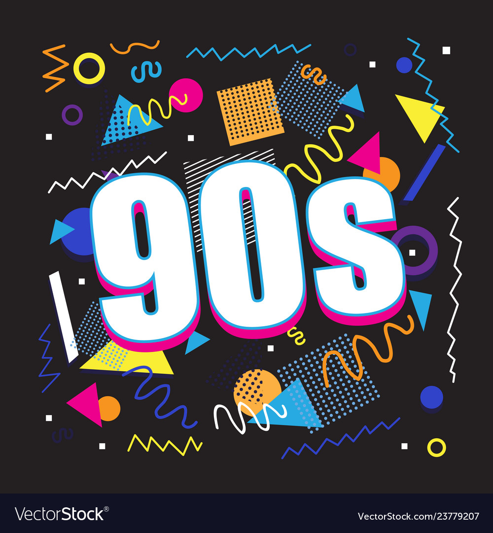 Party time the 90s style label