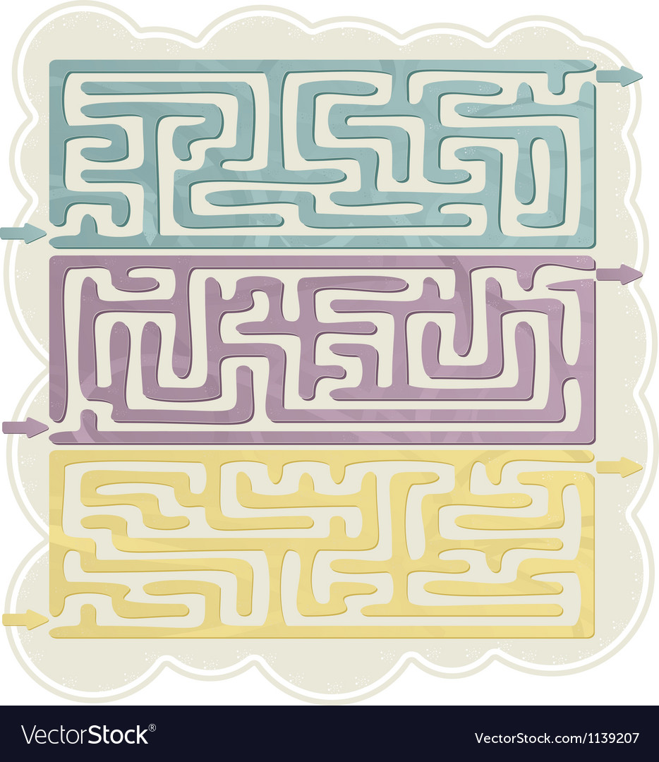 Set of Maze