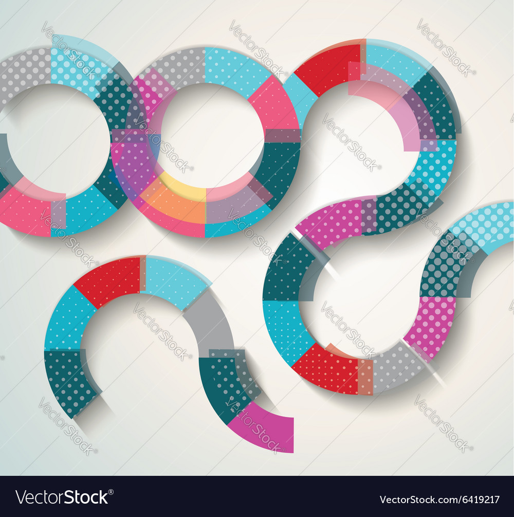 Pattern of geometric shapes Geometric background