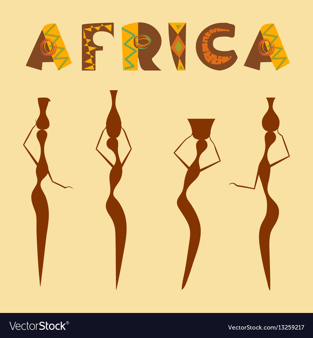 Travel to africa banner vector image