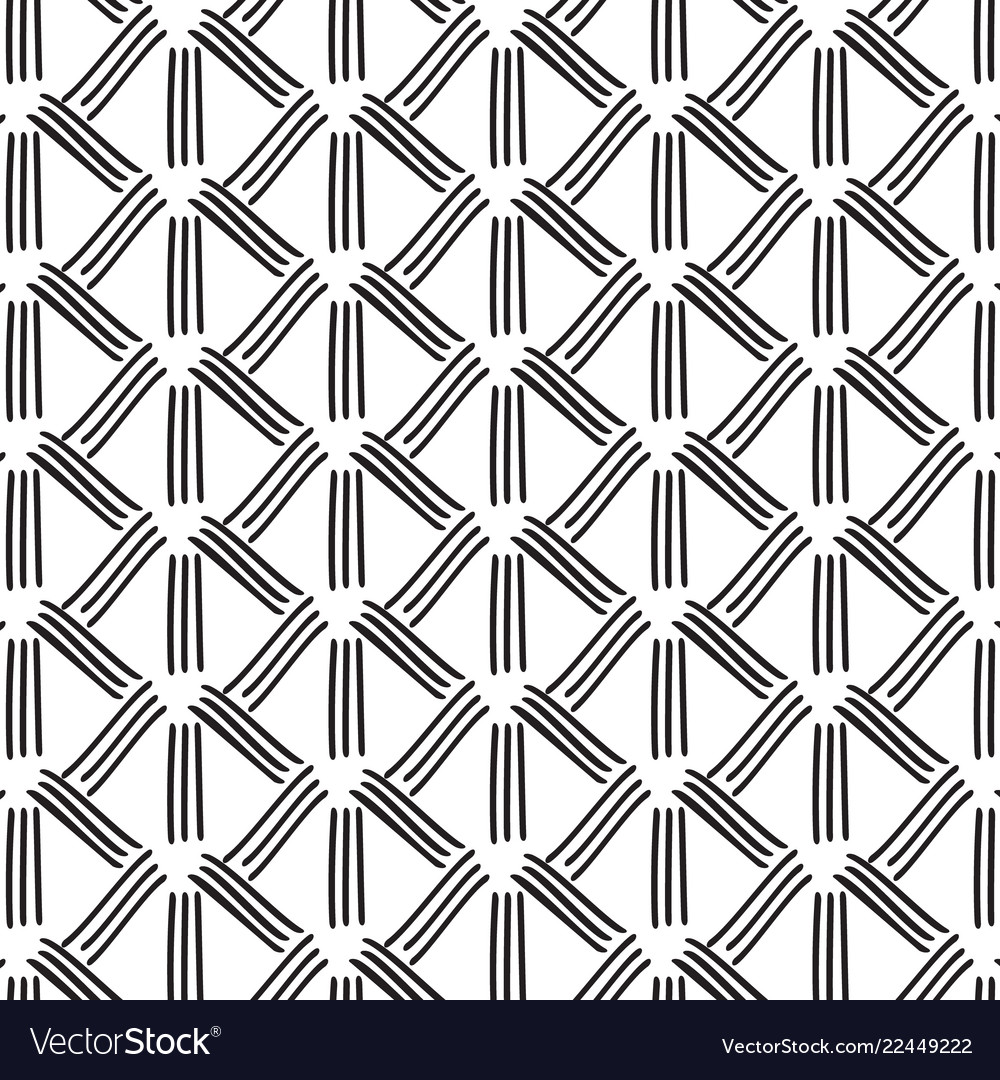 Striped monochrome decoration abstract