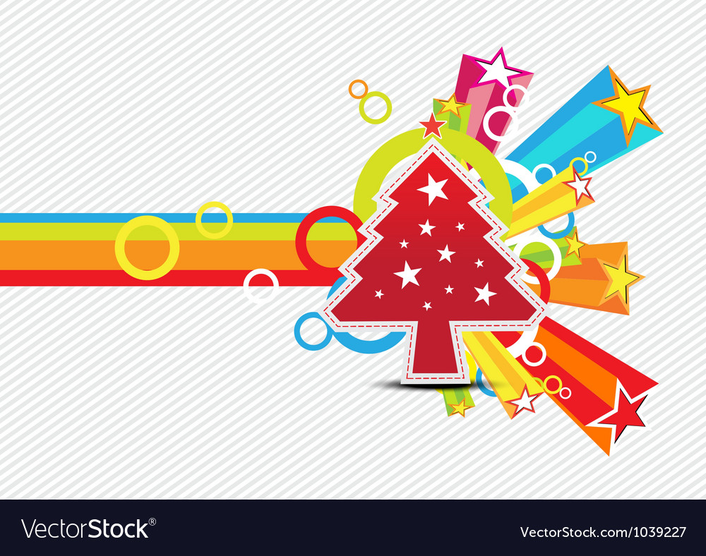 Christmas with star celebration background design