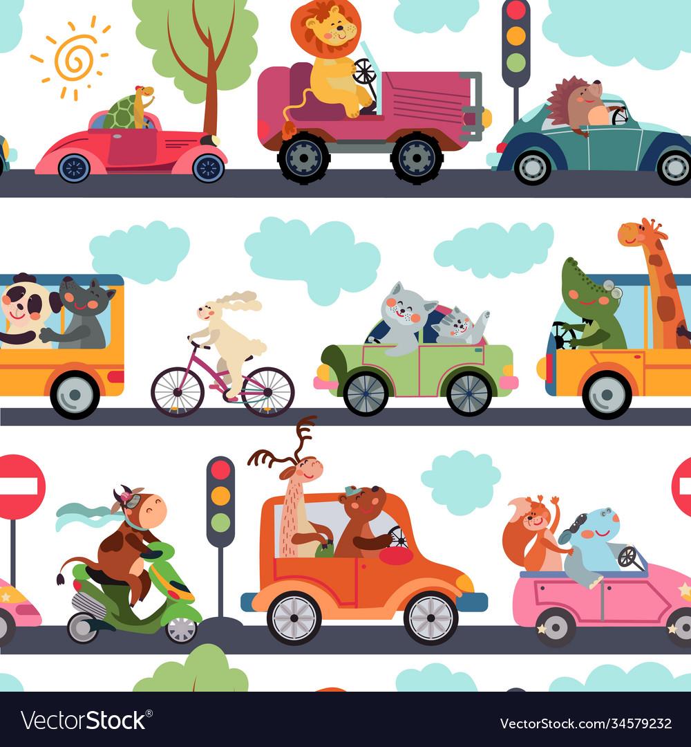 Animal transport pattern transportation funny