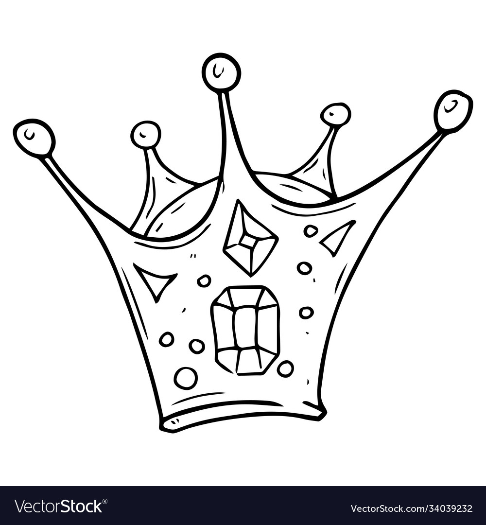 Crown Icon A Cartoon Crown Hand Drawn Royalty Free Vector Cartoon crown stock vector art & more images of antique. crown icon a cartoon crown hand drawn royalty free vector