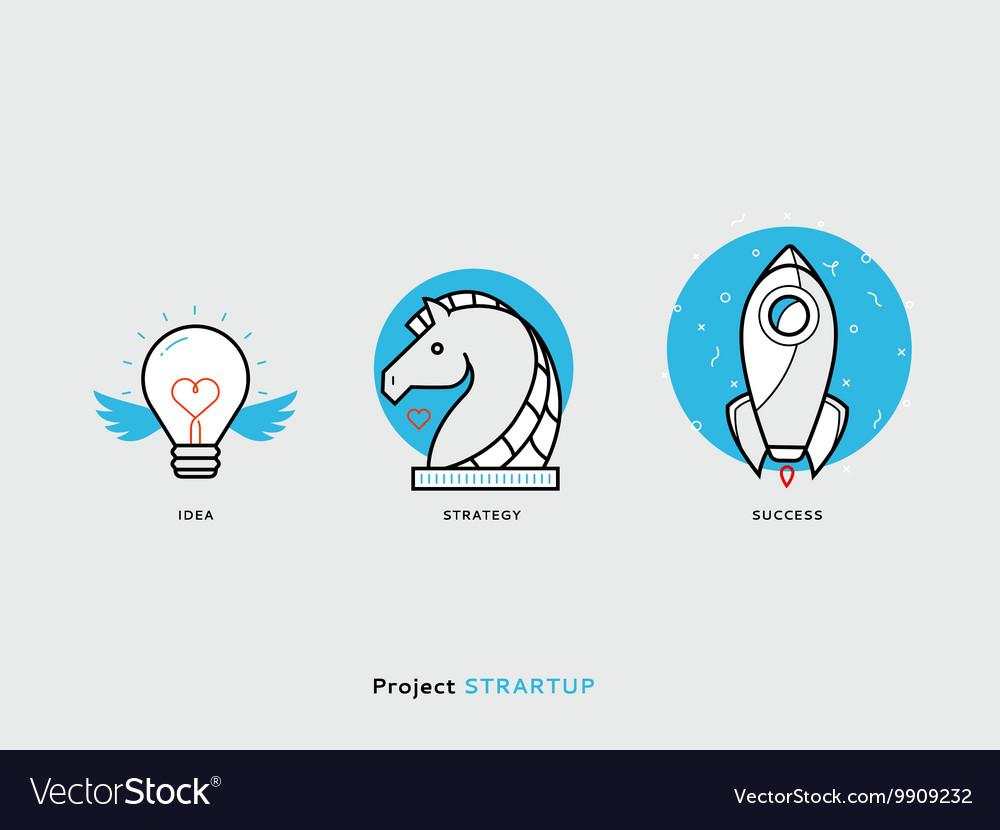 Start Up Icon Set