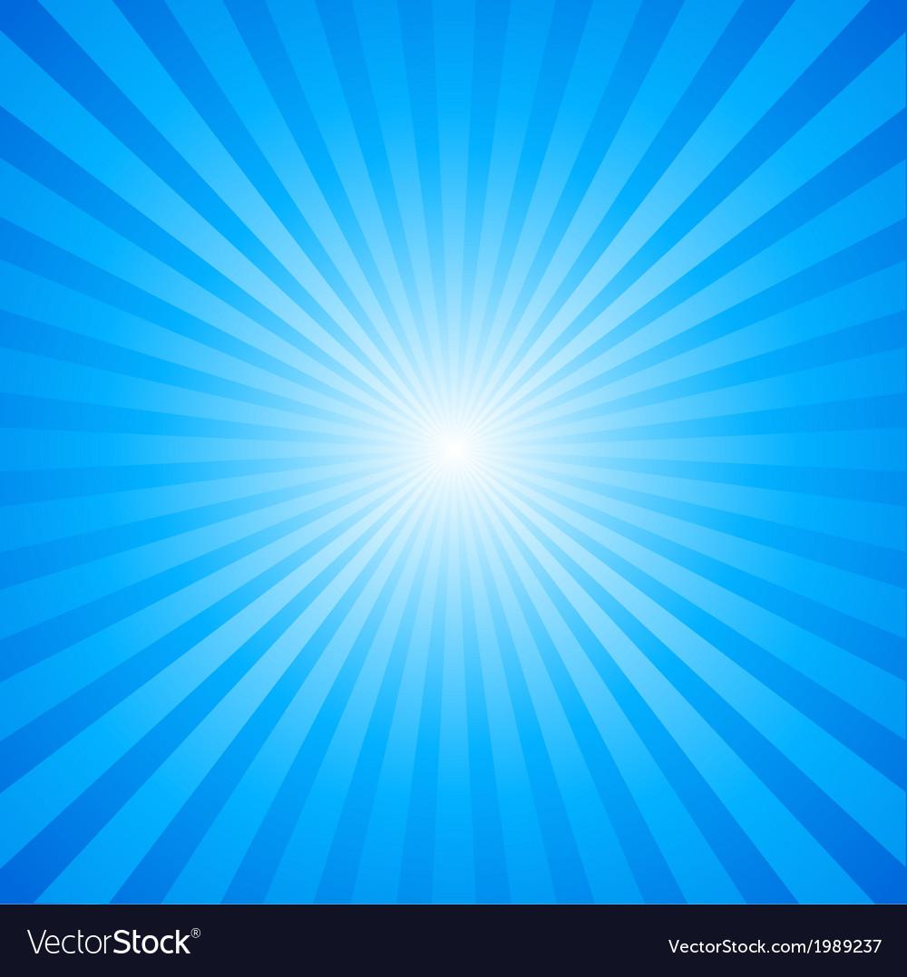 Sky Burst Pattern vector image