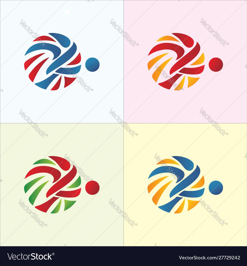 futsal logo vector images 19 vectorstock