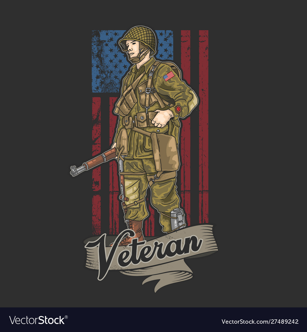 American army veteran independence