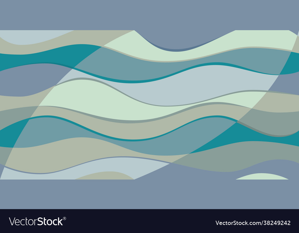 Bright colorful abstract waves background