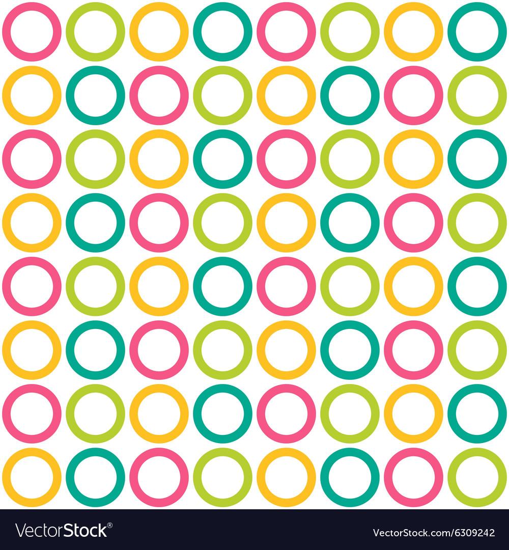 Bright seamless pattern