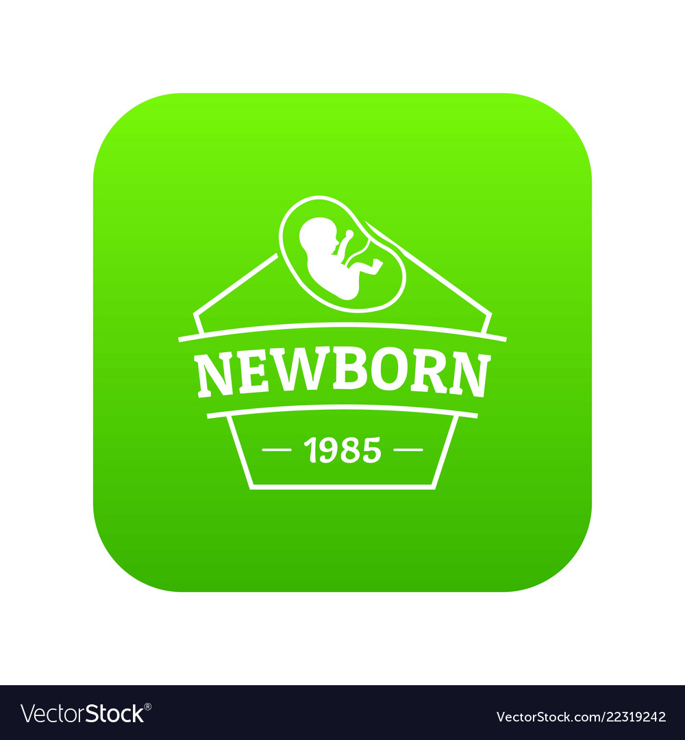 Newborn icon green