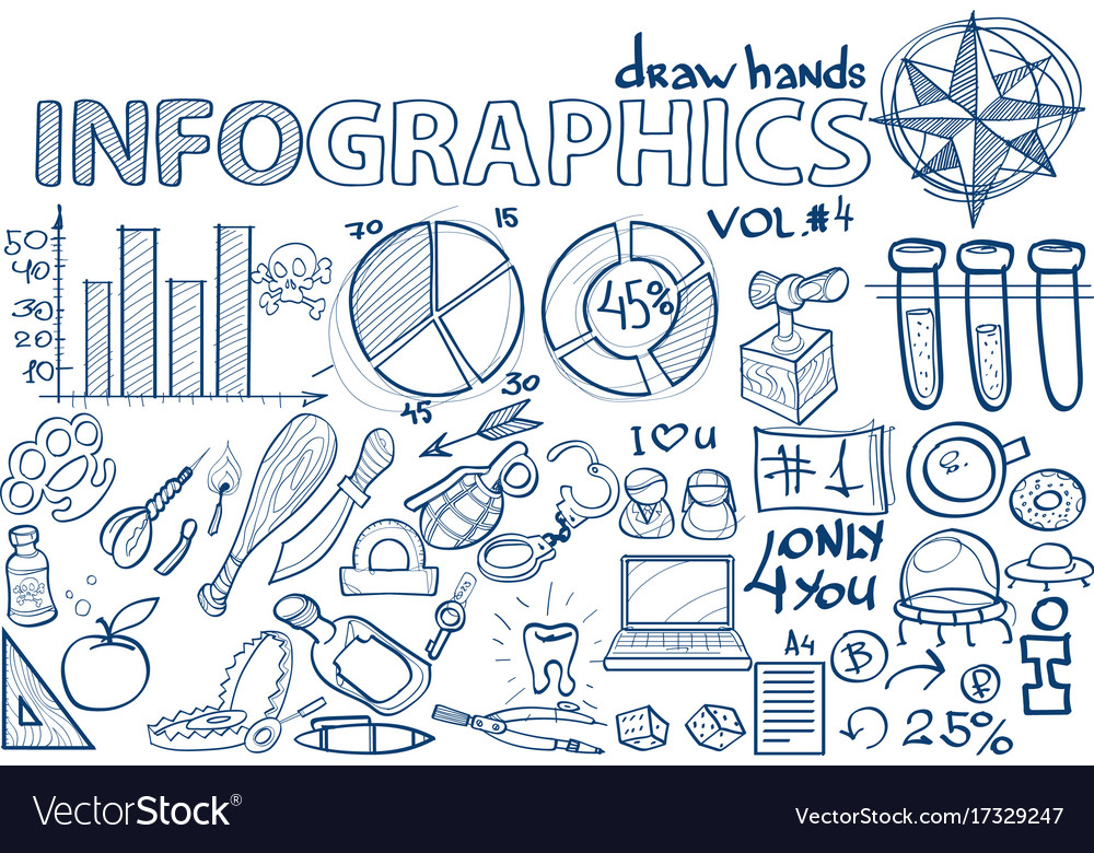 Hand draw infographics vol 4 science