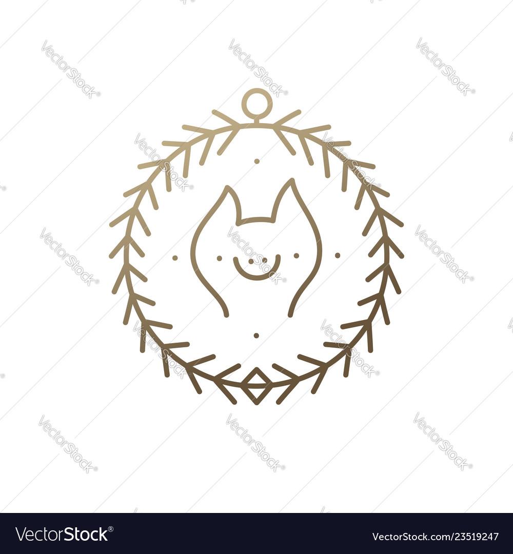 Pig icon frame