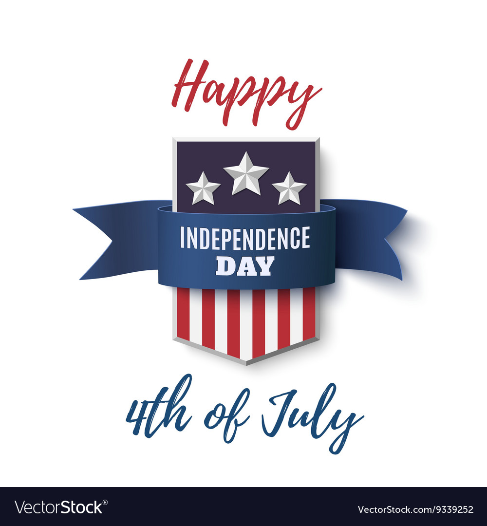 Happy 4th july background template