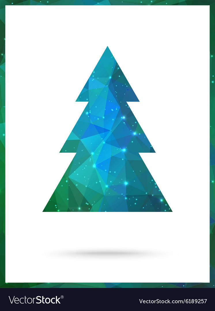 Christmas Tree card design Perfect as