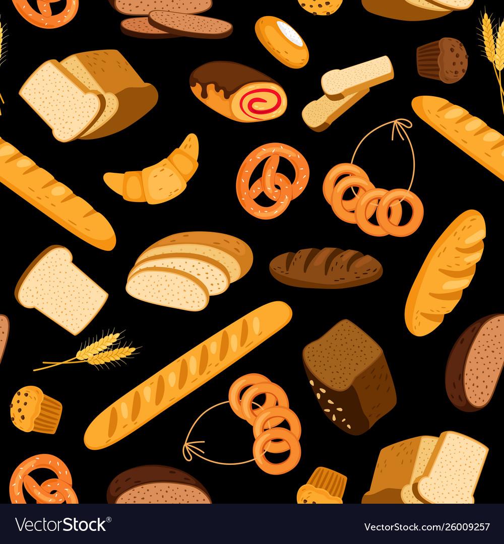 Fresh bread pattern