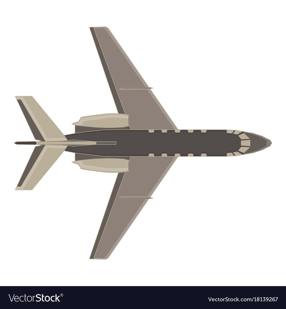 Aircraft icon plane isolated flight travel jet