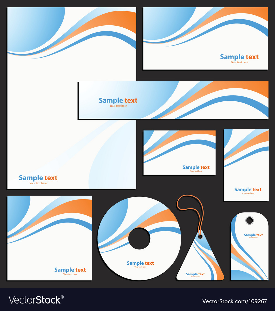 Letterhead template design royalty free vector image letterhead template design vector image spiritdancerdesigns Images