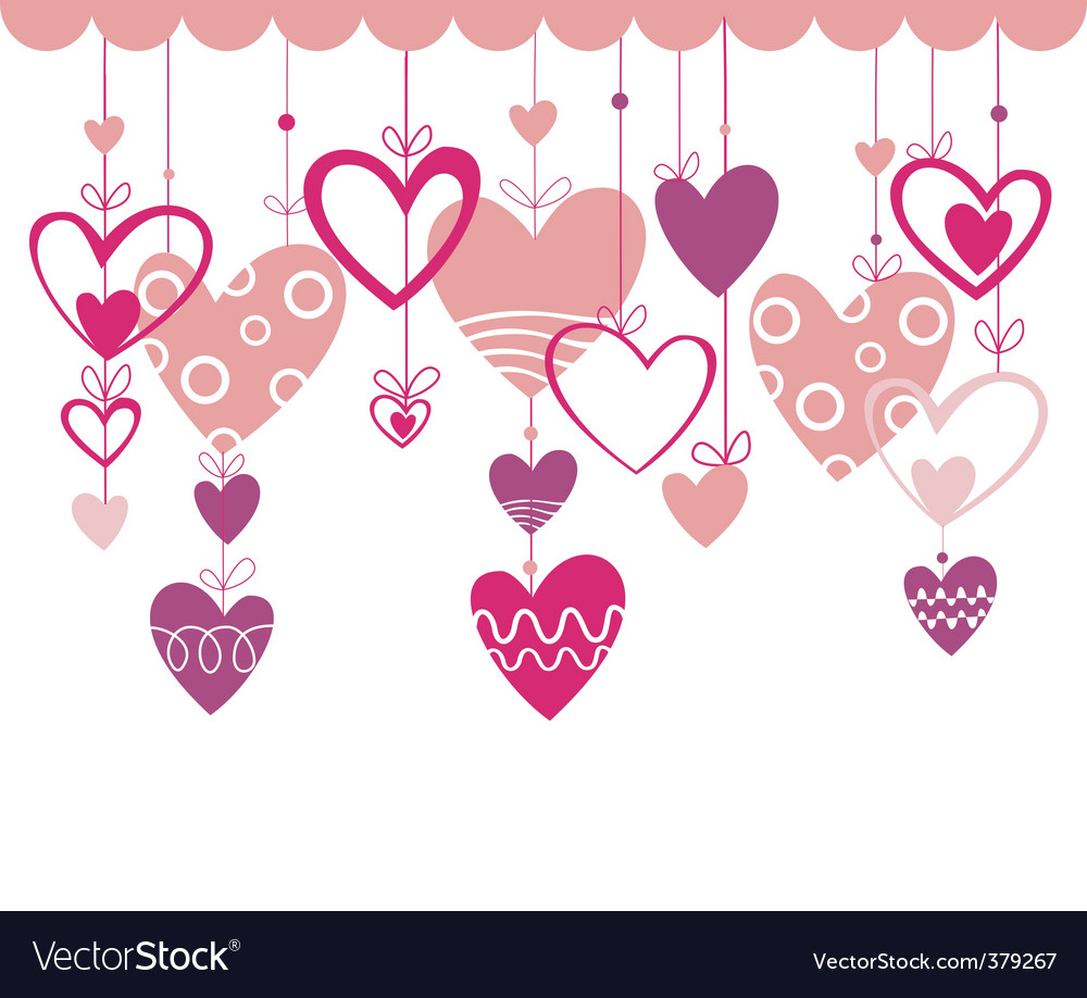 love background with heart royalty free vector image