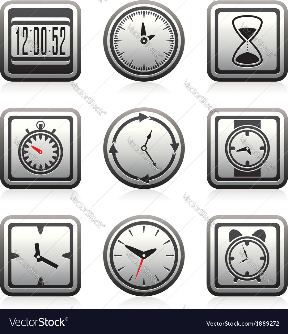 Clock and time symbols
