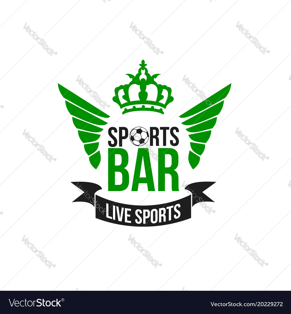 Soccer sports beer pub icon
