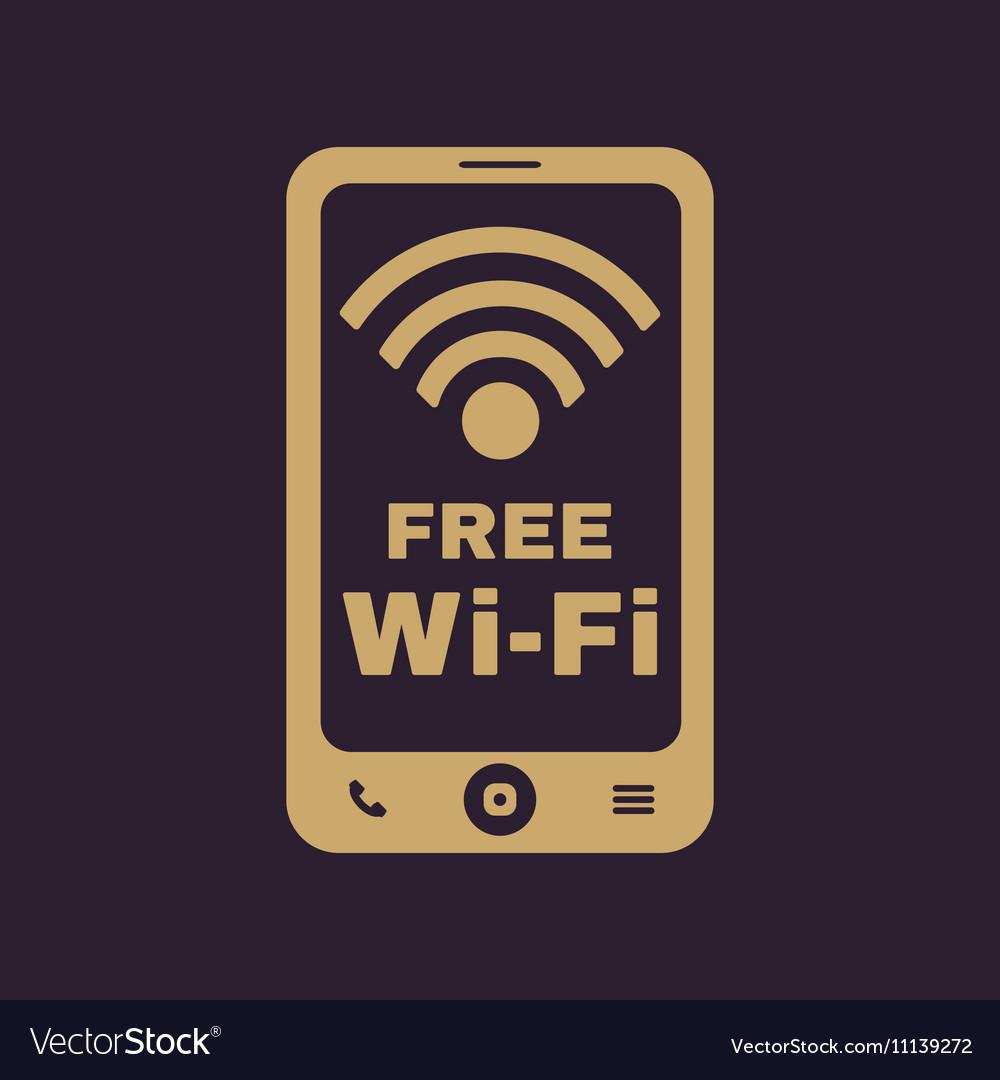 The wifi icon Free Wifi symbol Flat