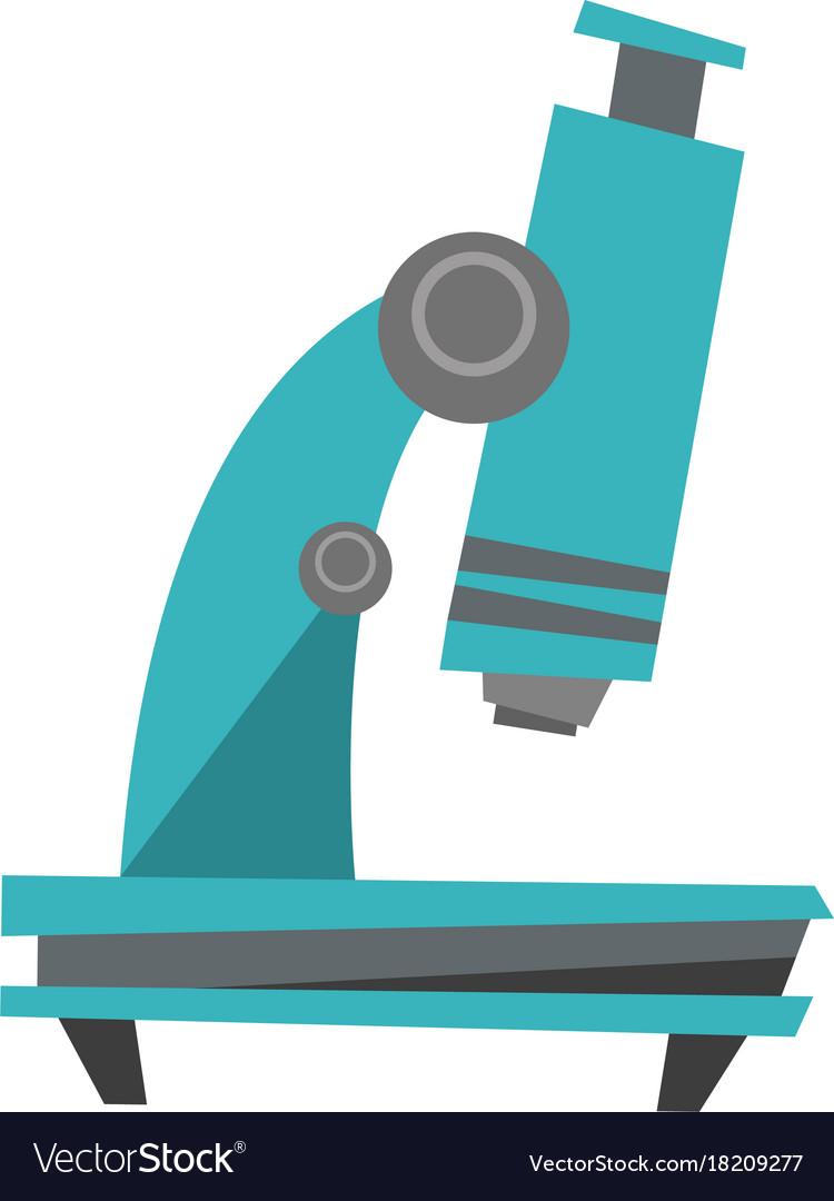 microscope cartoon royalty free vector image vectorstock vectorstock