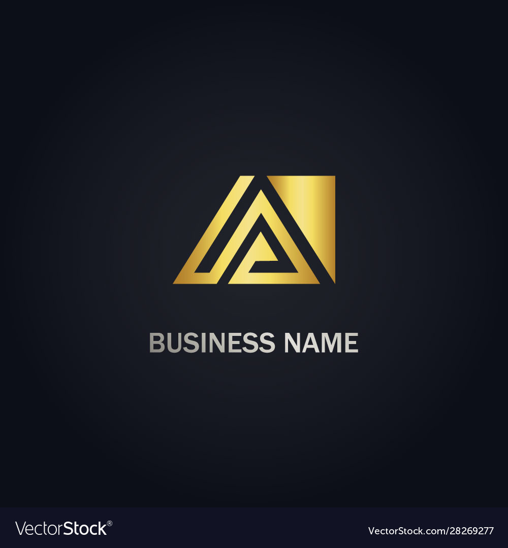 Triangle a business logo