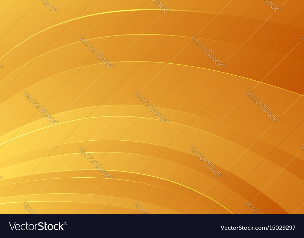 Abstract orange smooth striped background vector image