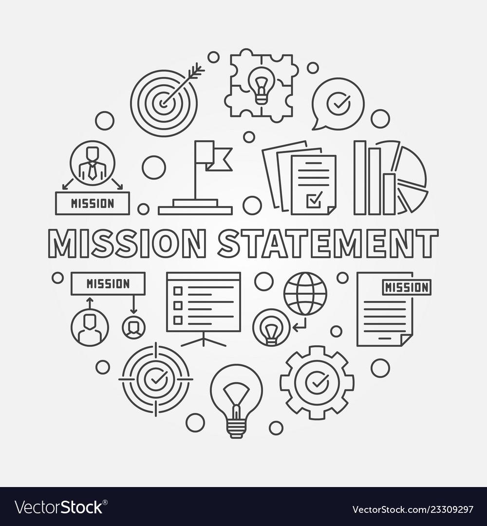 Mission statement round outline