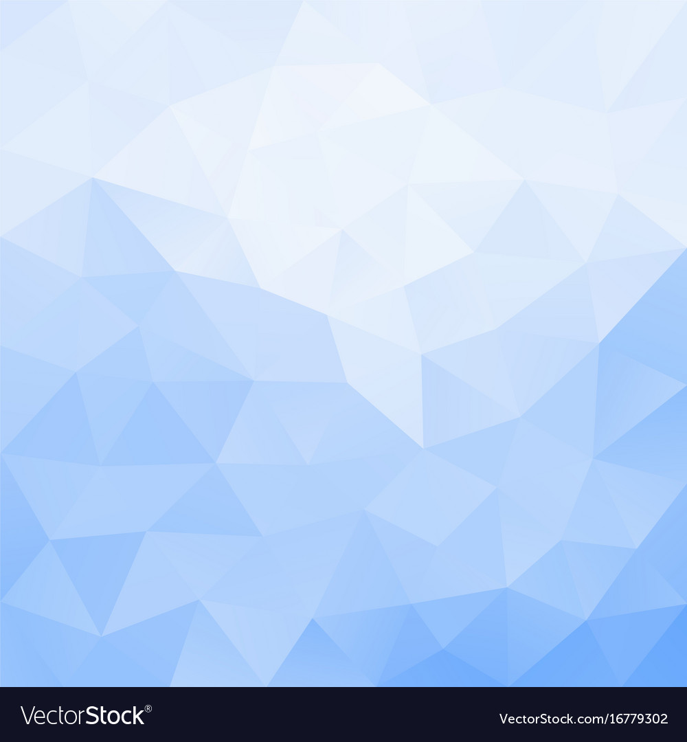Abstract Triangular Mosaic Light Blue Background