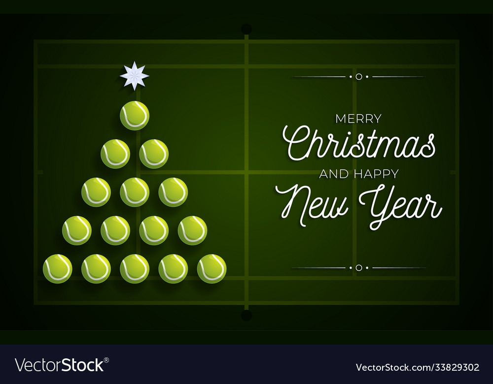 Christmas and new year greeting card creative