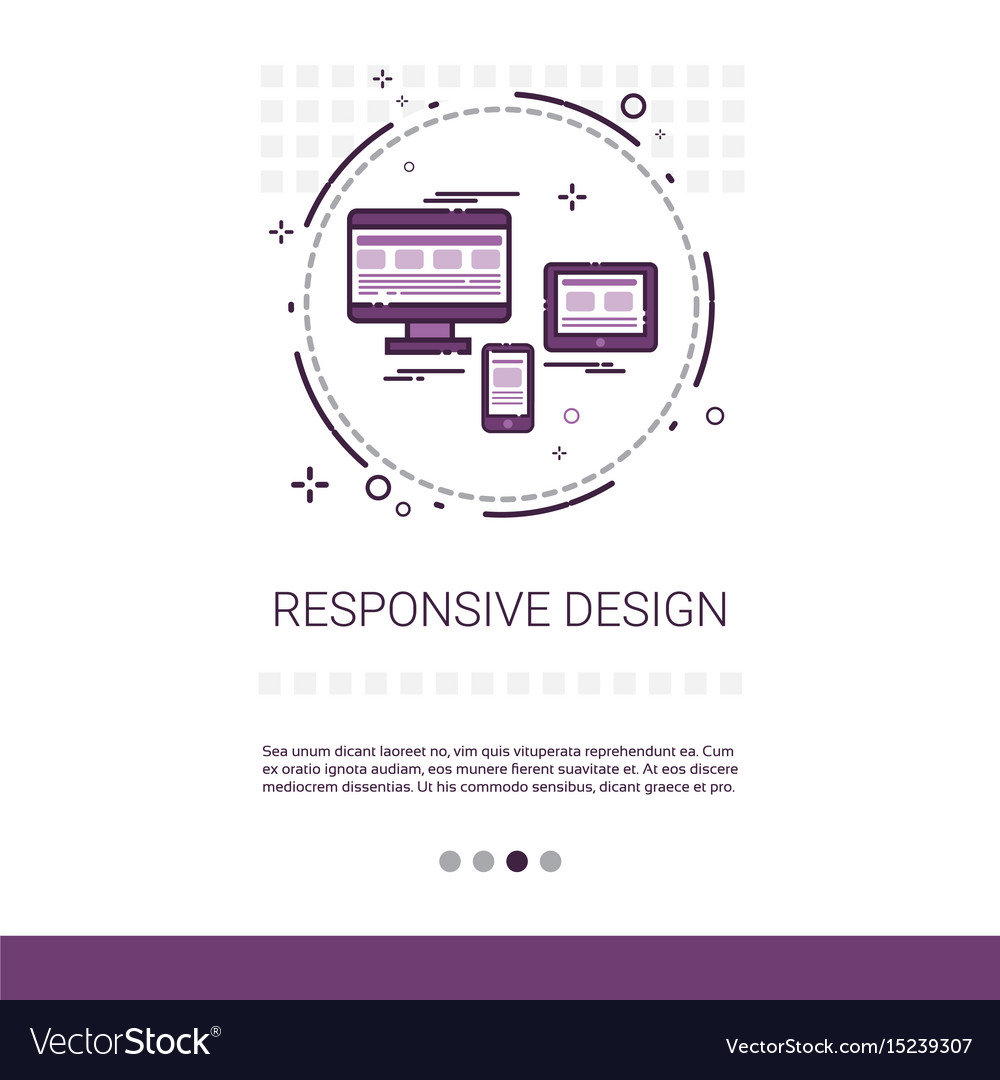 Responsive design phone tablet desktop device