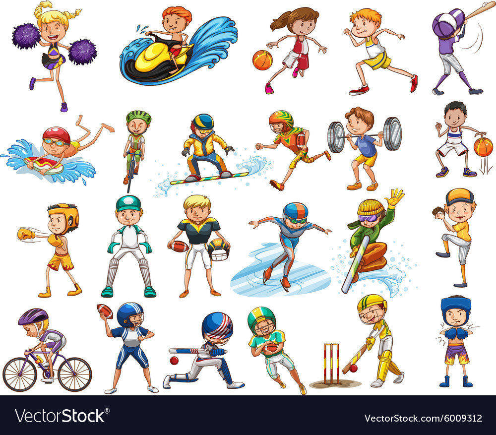 sports different kind vector sport vectorstock royalty 1022