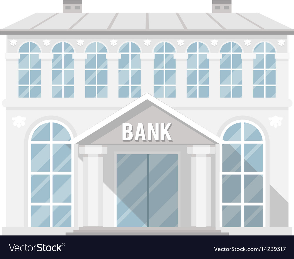 Bank building administrative commercial house flat