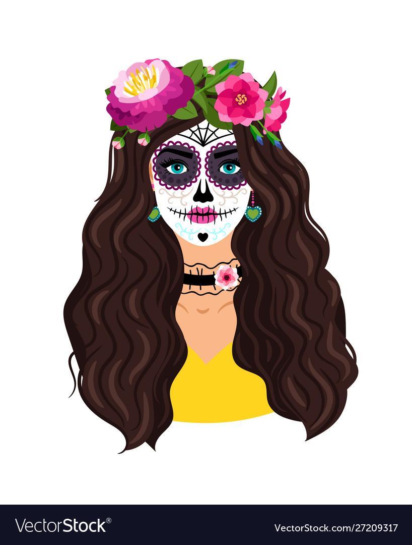 Day dead girl