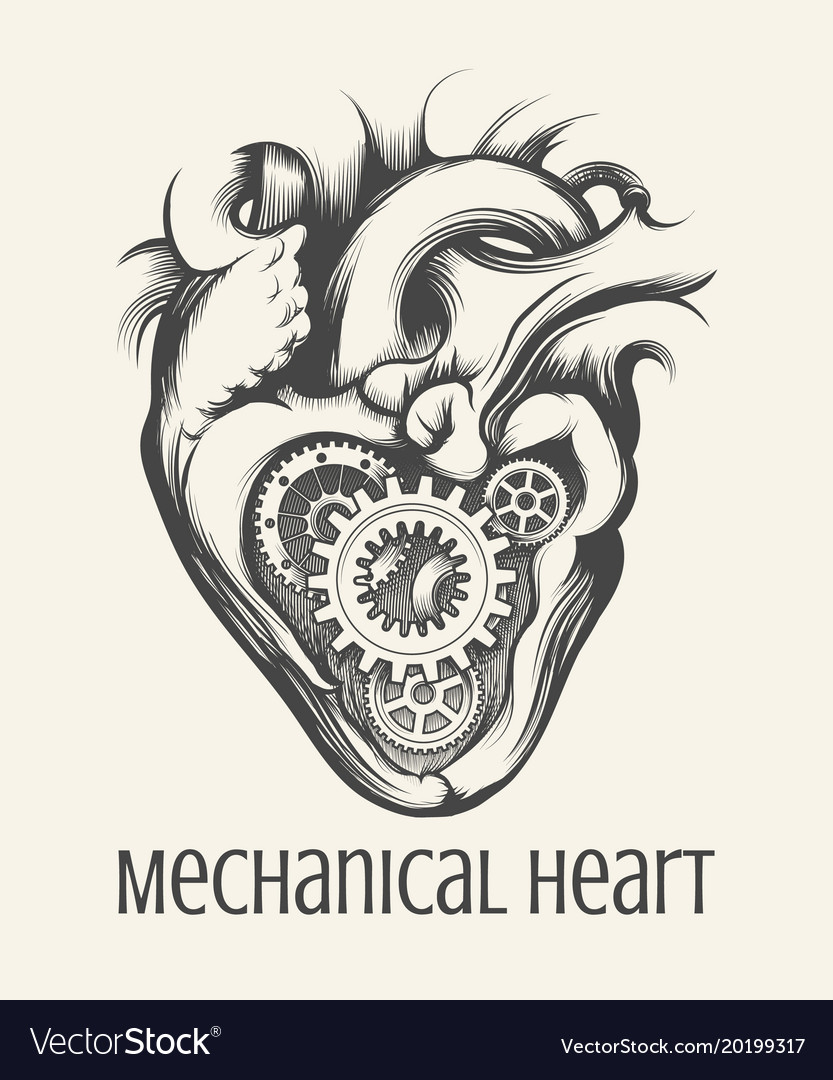 Mechanical heart retro