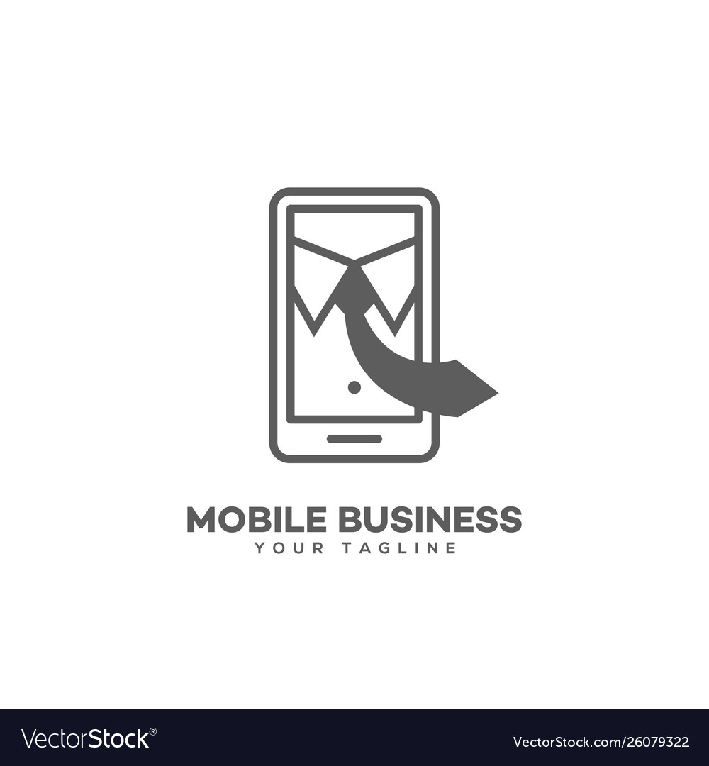 Mobile business logo