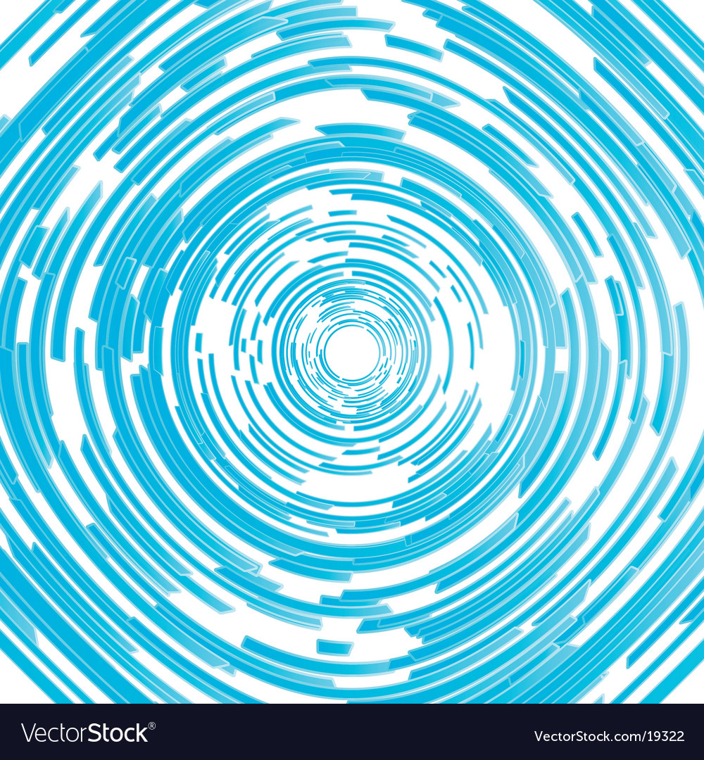 Modern circled spiral abstract background