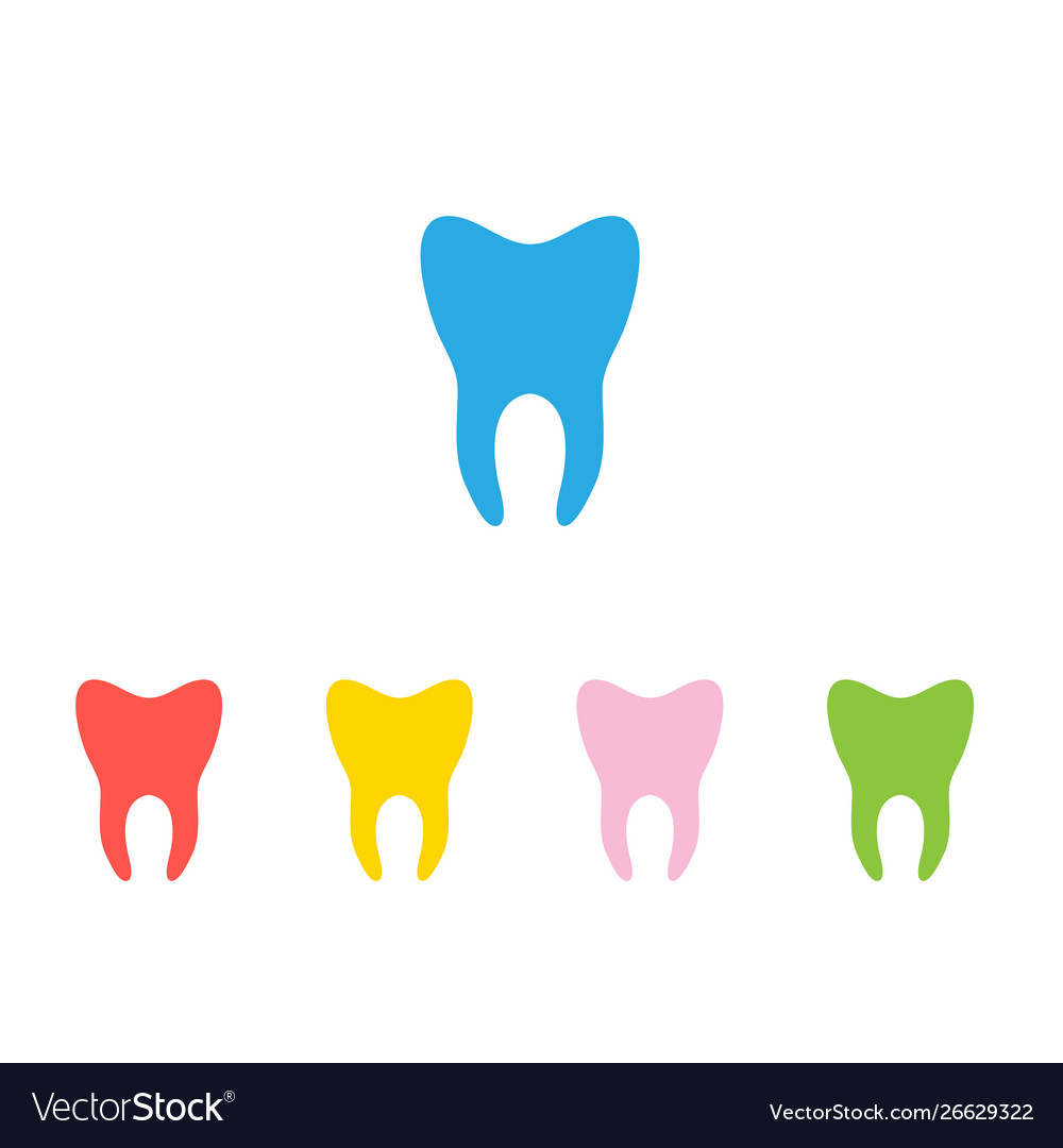 Silhouette teeth