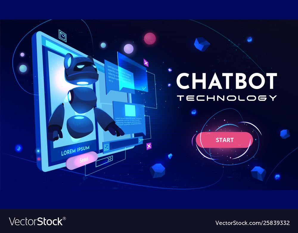 Conversational chatbot service website