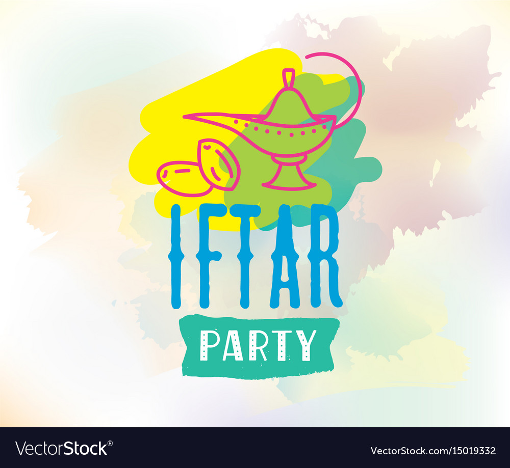 Ramadan kareem graphic iftar party royalty free vector image ramadan kareem graphic iftar party vector image stopboris Image collections