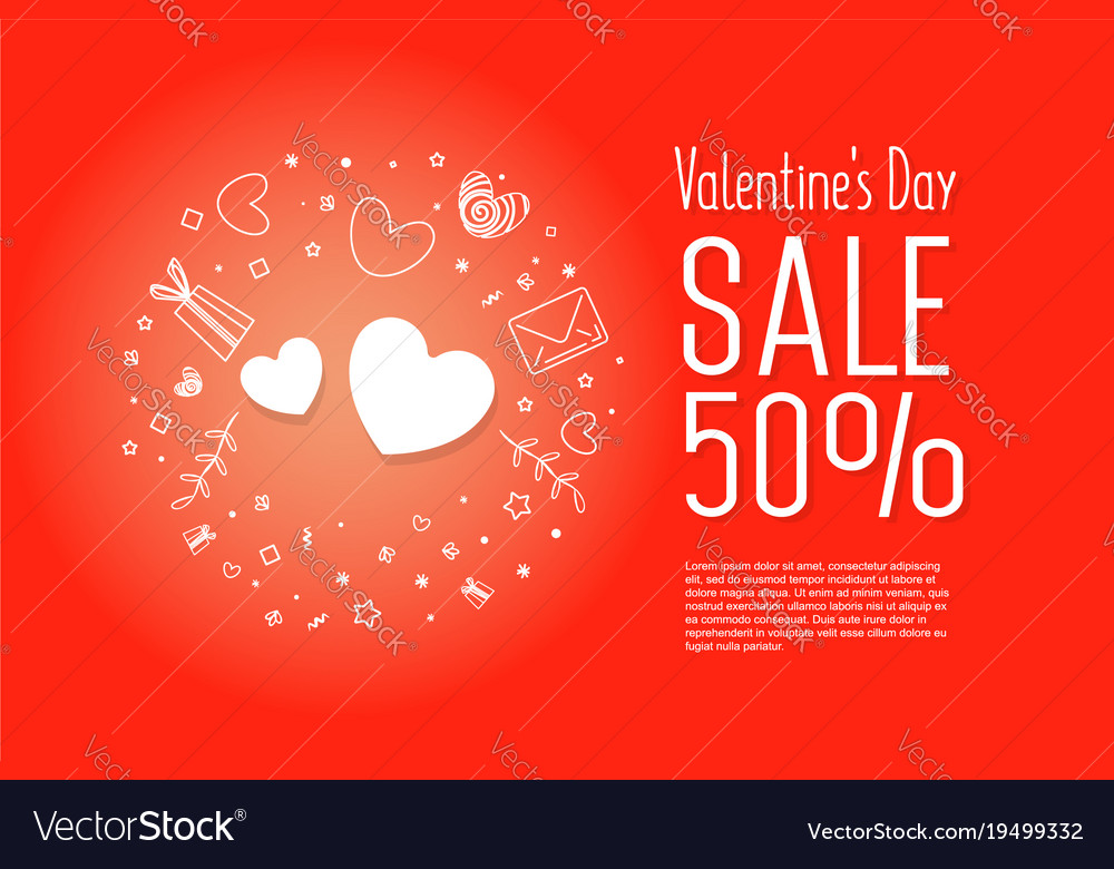 Sale of valentines day 50 off