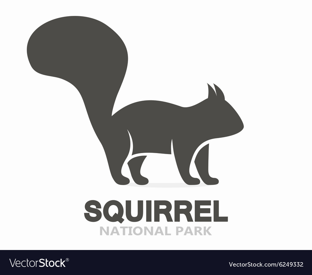 Squirrel logo or icon