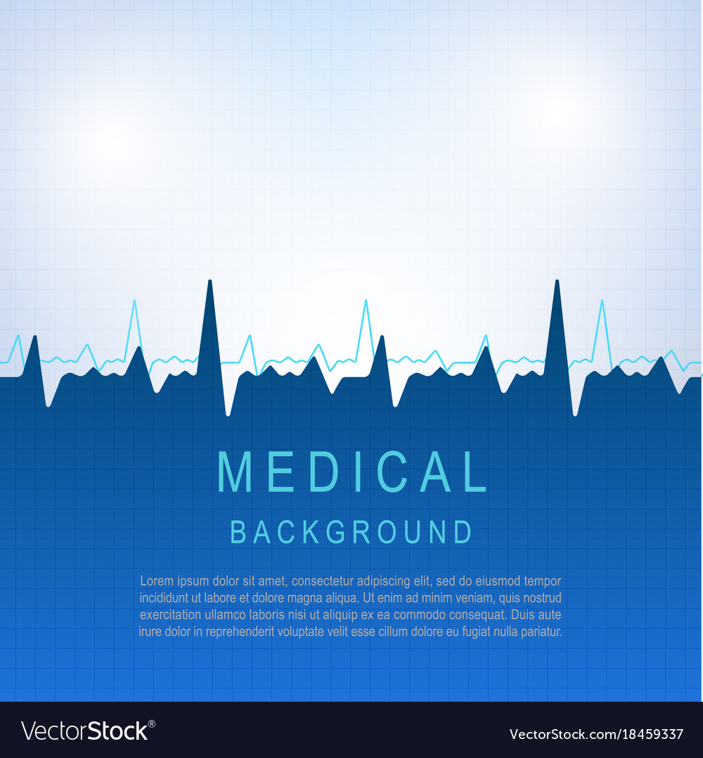 Healthcare medical background with heart